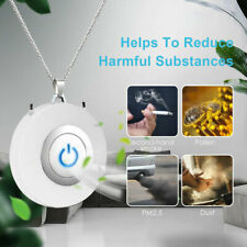 Necklace Air Purifier Mini Anion Wearable Negative Ionizer Generator Portable
