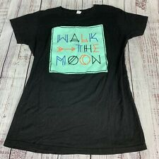 Tultex Walk The Moon Black T-Shirt Size XL Extra Large