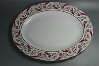 """Royal Crown Derby """"Princess"""" 15"""" by 12"""" Oval Serving Platter"""