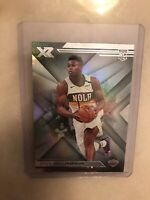 2019-20 Panini Chronicles XR Zion Williamson #271 RC Rookie Pelicans