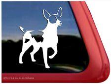 Rat Terrier Dog Window Decal