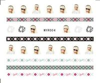 Barbie Design Nail Art Decals Hot Sale Nail Decorations Stickers