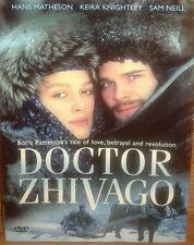 DOCTOR ZHIVAGO KEIRA KNIGHTLEY Hans Matheson Boris Pasternak Sam Neil Love Story