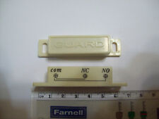 New Old Stock N/O N/C Reed Switch and Magnet unit set for Intruder Alert Systems