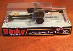 Dinky 6 Pounder Anti-tank gun