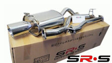 "SR*S Honda CIVIC 06-11 EX/LX/DX 2 DOOR Coupe CATBACK EXHAUST 2.5"" PIPING jdm RE"