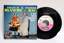 PIERRE DAC FRANCIS BLANCHE 1964 LE SAR RABINDRANATH DUVAL 45 Tours SP FRANCE