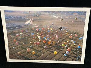 """VINTAGE 1975 ALBUQUERQUE INTERNATIONAL BALLOON FIESTA COLOR PHOTO,13""""X18 3/4"""""""