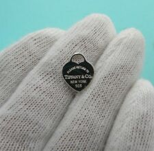 Return to Tiffany & Co Sterling Silver Heart Tag Pendant Charm Mini Small Gift