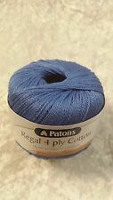 Patons Regal Cotton 4 Ply #2795 Marine Blue 50g