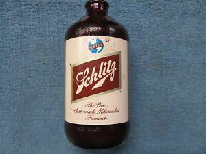 Vintage Schlitz Beer Bottle - Royal Ruby Red