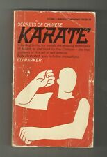 Secrets of Chinese Karate Ed Parker Techniques Illustrated with Instructions