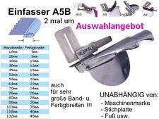 Einfasser A5B, GESCHLOSSENE Kanten, Breiten zur AUSWAHL, Universell passend !!