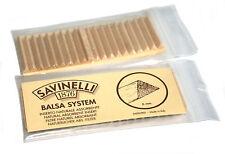 40 SAVINELLI Balsa wood filters - 40 x 6mm Pipe Filter