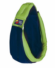 Brand New Baba Sling Baby Carrier 2 Tone Navy & Lime Two Tone