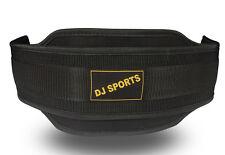 Dip Gürtel aus Nylon in schwarz | Dipgürtel Fitness Gürtel mit ca. 80cm Länge
