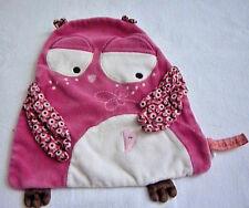DPAM bebe Doudouchou Rose Hibou Couette Jouet Doux Plaid couverture doudou doudou