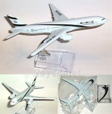 EL AL ISRAEL Airline Boeing 777 Airplane 16cm DieCast Plane Model
