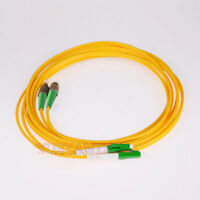 40M LC APC-FC APC Duplex Optical Fiber Cable Patch Cord LC to LC SingleMode