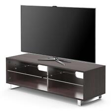 Upto 60 Inch Modern TV Stand Cabinet Unit With Glass Shelf / Led Lcd Media Table