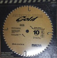 "Magna 60238 10"" 60T  American Pride Gold Carbide Circular Saw Blade"