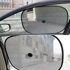 1 Pair Black Mesh Car Side Rear Window Sun Shade Cover Visor Shield Screen Cozy