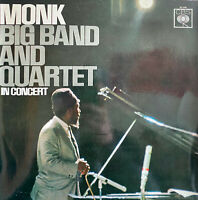 RARE JAZZ LP THELONIOUS MONK BIG BAND AND QUARTET LIVE OG FRENCH CBS 62248
