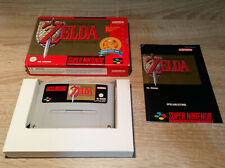 Super Nintendo SNES // Legend of Zelda-a link to the Past + embalaje original + INST. // pal cib