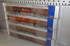 Roco H0 74512 - 74514 _ 4x SJ Personenwagen Reisezugwagen A7 B7 Ep IV _NEU