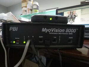 Myovision 8000 Chiropractic Static Dynamic SEMG Software Included