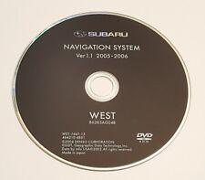 2005 2006 SUBARU TRIBECA OUTBACK LEGACY GT LIMITED NAVIGATION DVD WEST MAP OEM