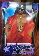 Custom Macho Man Ring Giant wwe wwf elite classic basic hasbro