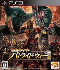 Used PS3 Kamen Rider Battride War 2 PLAYSTATION 3 SONY JAPAN JAPANESE IMPORT