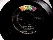 VINCE CASTRO Bong Bong GREAT RARE 1958 DOO-WOP ROCKER 45 Original on APT Hear