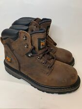 """Timberland PRO Men's 84184 Brown Titan 6"""" Composite Safety Boot SIZE 8M New!!"""