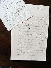 GUERRE DE 1870 ordres de resistance à un  commandant francs tireurs