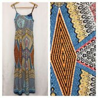Poetry Maxi Sundress Juniors Small S Adjustable Spaghetti Strap Long Dress
