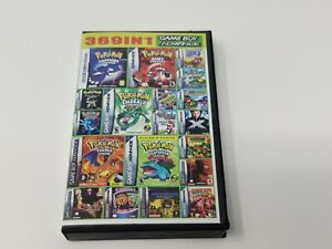 Gameboy advance 369 in 1 multi cart for GBA Super Mario, Pokemon, Kirby and More