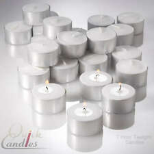 Richland Tealight Candles Extended 7 Hour Burn Set of 100, Home & Event Decor