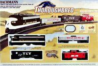 Bachmann HO Scale Train Set Analog Thoroughbread 00691