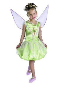 Disney Fairies TinkerBell Deluxe Tinker Bell Dress Costume (4-6x)