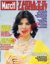 Paris Match n°1706 du 05/02/1982 Caroline de Monaco Jeux Francisci Marcos