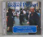 Les chansons de Jacques Prévert CD Montand Mouloudji Gréco