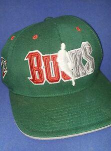 Milwaukee Bucks Official 2017 Draft Hat Cap size S/M Addidas Brand NBA Climalite