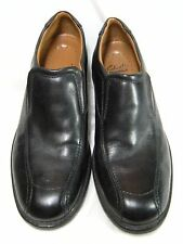 Clarks Mens Loafers Size 10 M Bicycle toe  Black   #26 JO