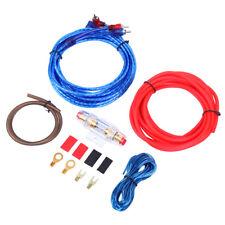 10GA Kabelset Anschluß Endstufe Verstärker Amp Subwoofer Car Audio Wire Kabel