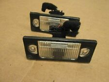 99 00 01 VOLKSWAGON JETTA VR6  LICENSE PLATE LIGHT OEM ((PAIR))
