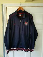 Vintage USA Soccer Track Jacket By Nike. Men's Size XL.