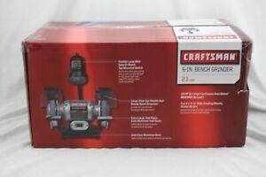 CRAFTSMAN 6-IN Bench Grinder 2.1 AMP 21124 921124 BRAND NEW