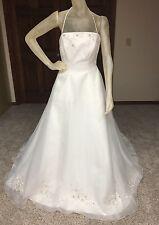 Jasmine Wedding Dress Size 12 Ivory Beaded Can be worn strapless